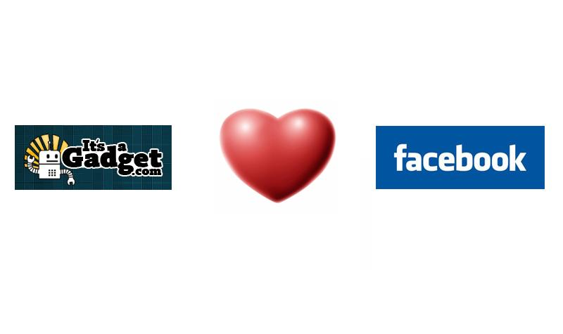 itsagadget loves FaceBook