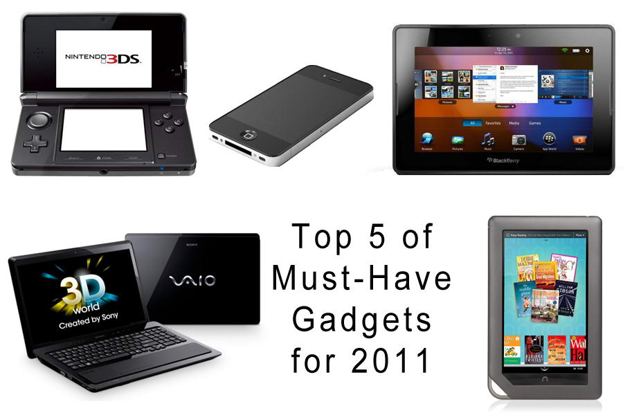 Top 5 of Must Have Gadgets