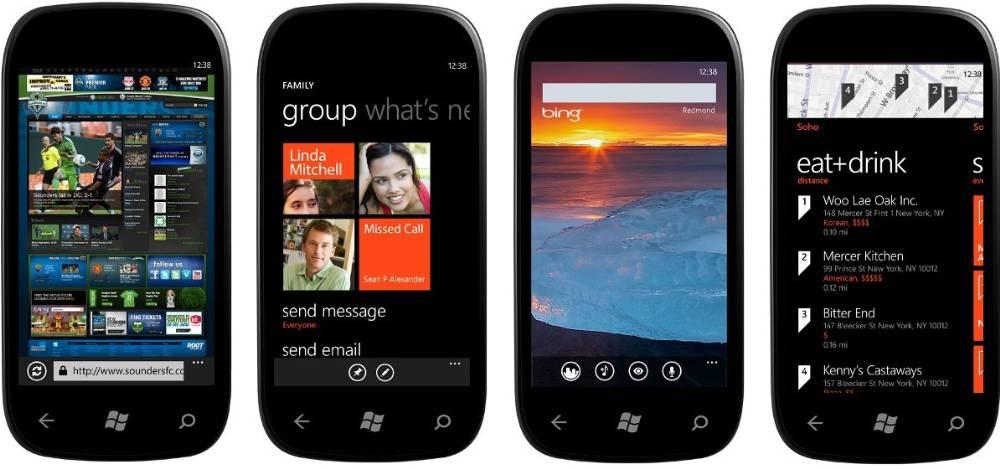 Windows Phone Mango Features
