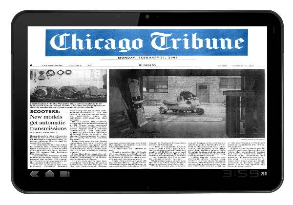 The Tribune Tablet