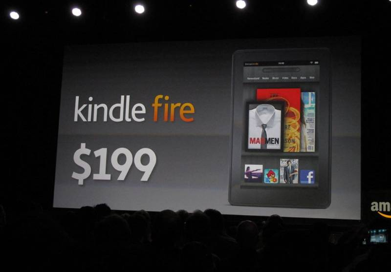Amazon Kindle Fire $199