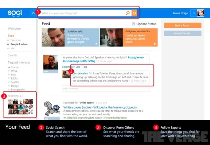 Microsoft Socl Social Network