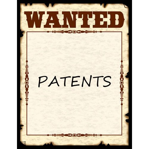 Wanted Patents