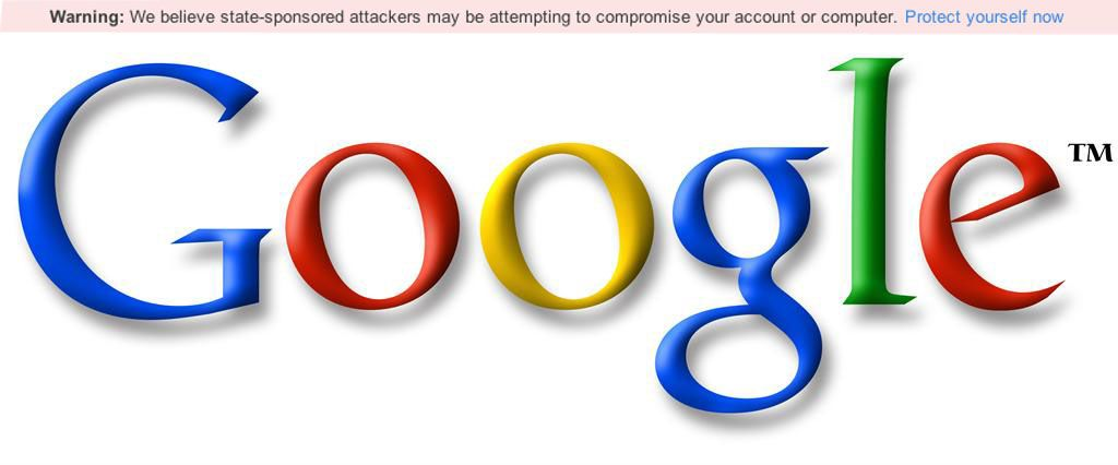 Google Security Warning