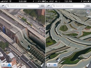 Apple iOS 6 Maps Fail
