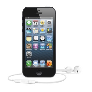 Apple iPhone 5 and EarPods