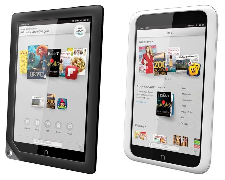 Barnes and Noble Nook HD and HD Plus