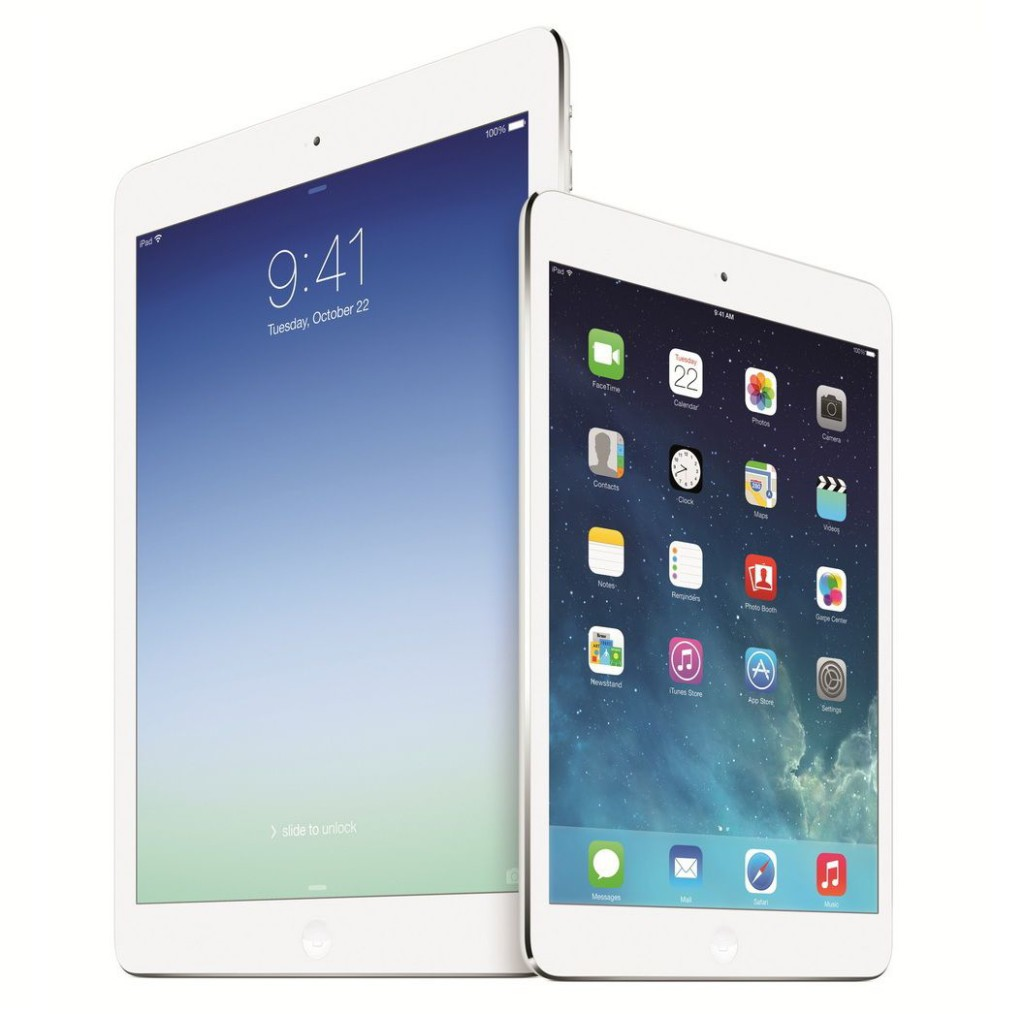 Apple iPad Air and iPad Mini Retina