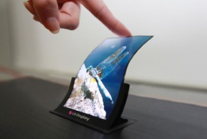 LG Flexible OLED Display