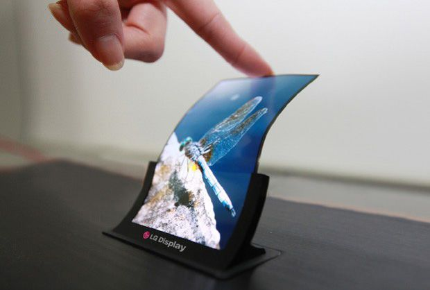 LG OLED Curved Display