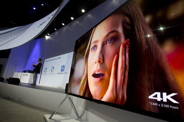 Sony 4K TV CES 2014