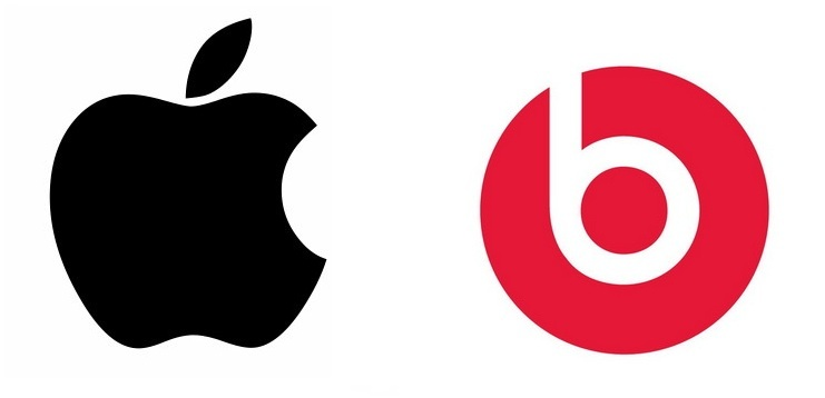 Apple and Beats by Dr. Dre Logo