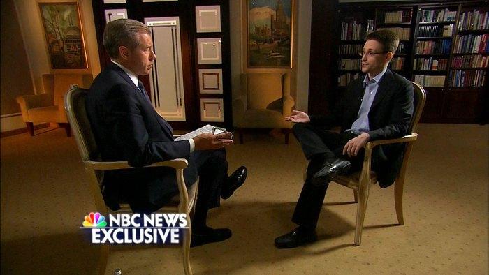 Edward Snowden NBC interview