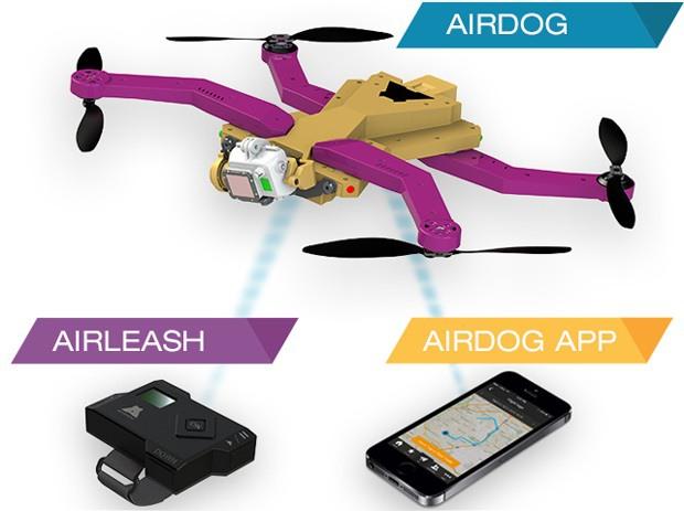 AirDog AutoFollow Drone GoPro