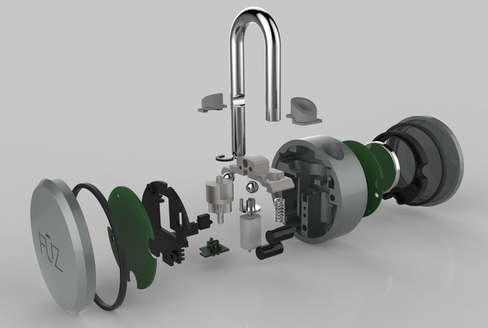Project Noke Padlock Components