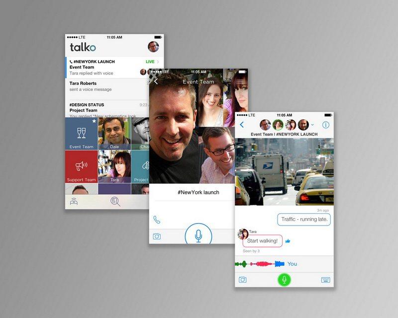 Talko Voice Call App