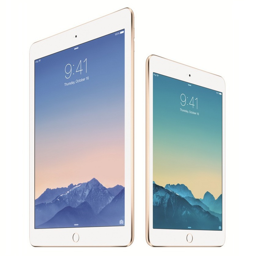 Apple iPad Air 2 iPad Mini 3
