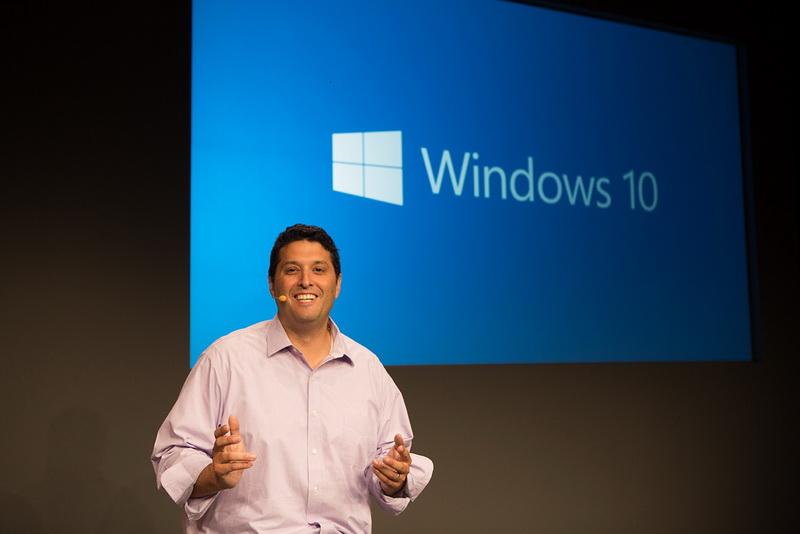 Windows 10 Terry Myerson