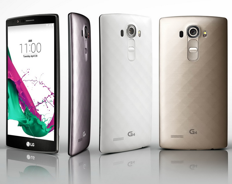 LG G4 smartphone was officially unveiled