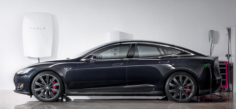 Tesla PowerWall Charging Model X