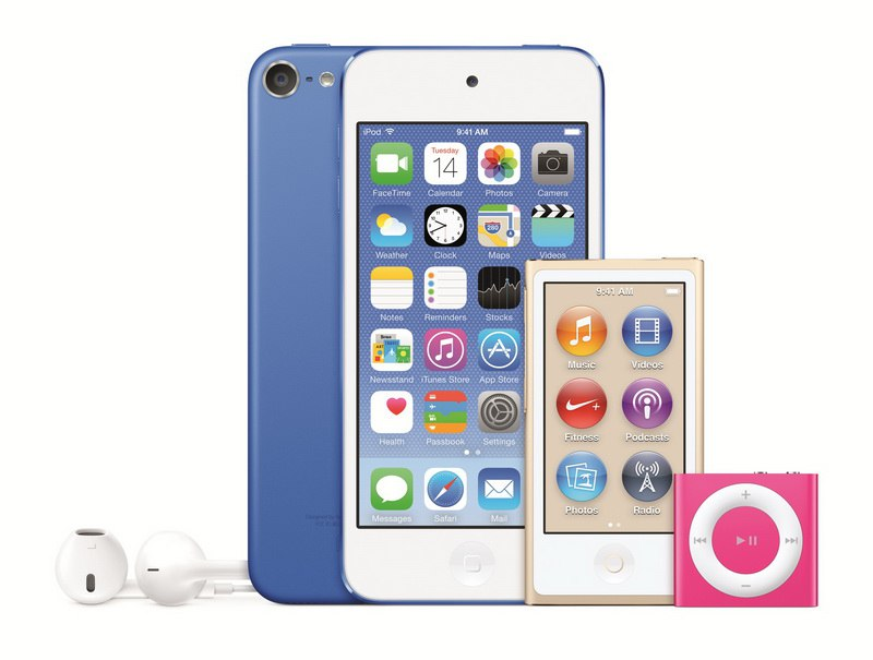 Apple iPod Line 2015