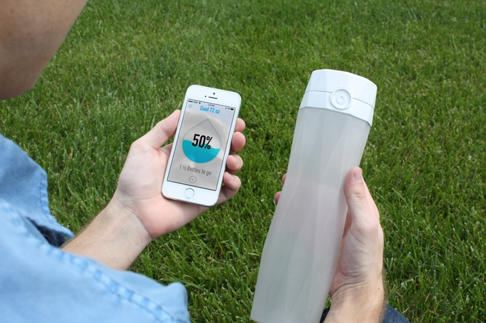 HidrateMe Smart Water Bottle