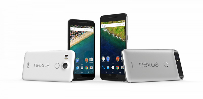 Google Nexus 5X and Nexus 5P