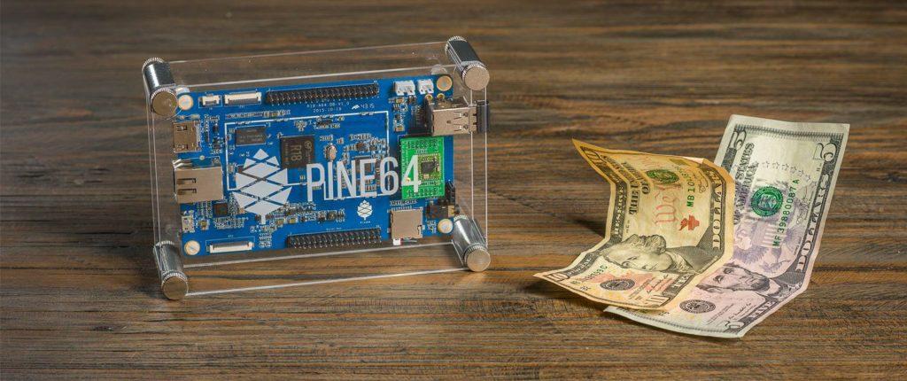 Pine A64 Mini Computer