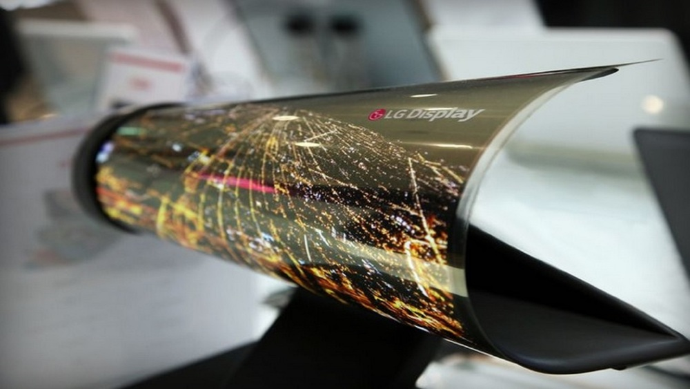 LG Rolled Up Display