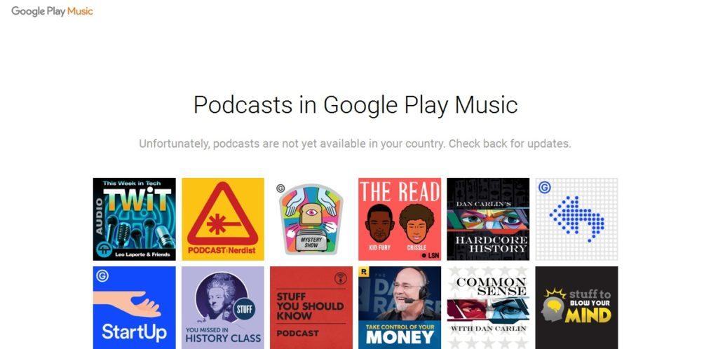 Google Play Podcast
