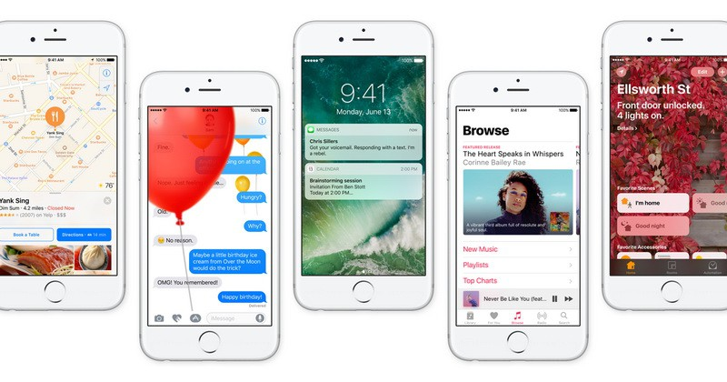 WWDC 2016: The evolution of Apple iOS 10