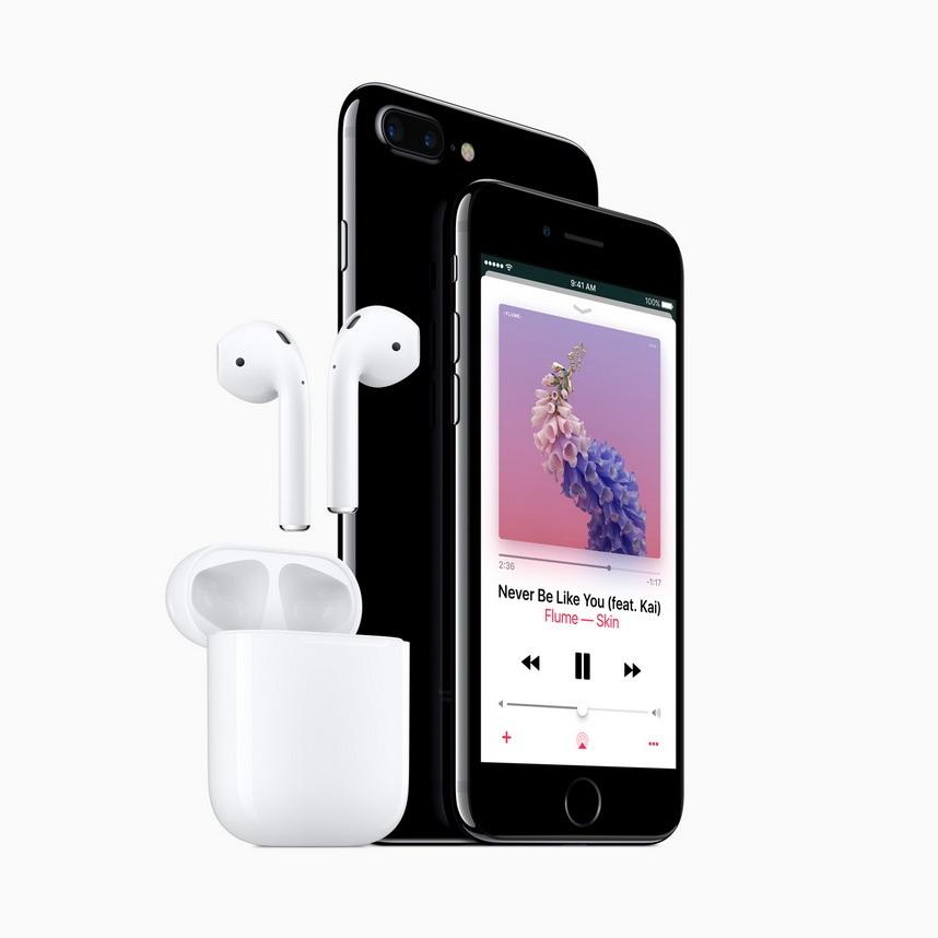 Apple iPhone 7 Jetblk Airpod