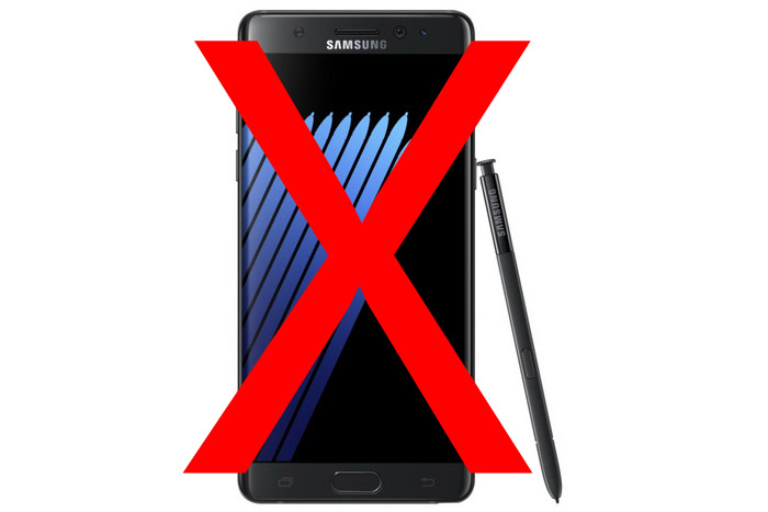 Samsung Galaxy Note 7 Canceled