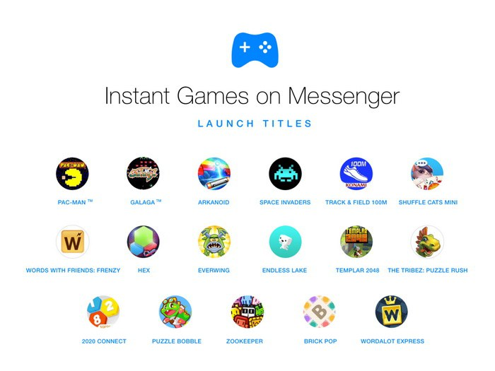Messenger Instant Games
