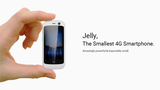 Jelly Smallest 4G Smartphone