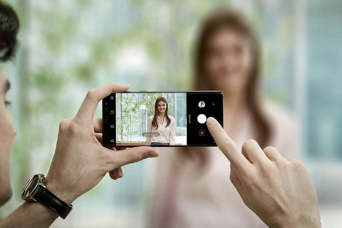 Samsung Galaxy Note8 Focus Camera