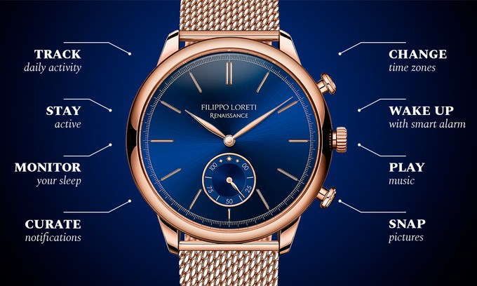 The Renaissance of the Filippo Loreti SmartWatch