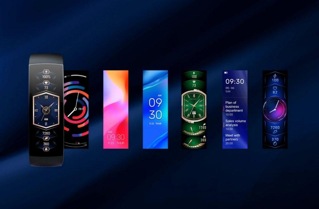 Amazfit X Huami Xiaomi faces