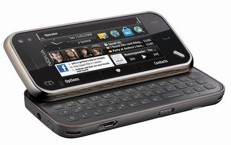 Nokia N97 mini QWERTY