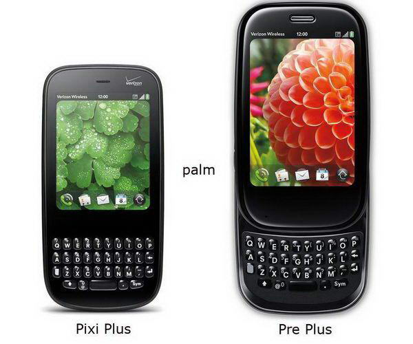 Palm Pixi Plus and Pre Plus