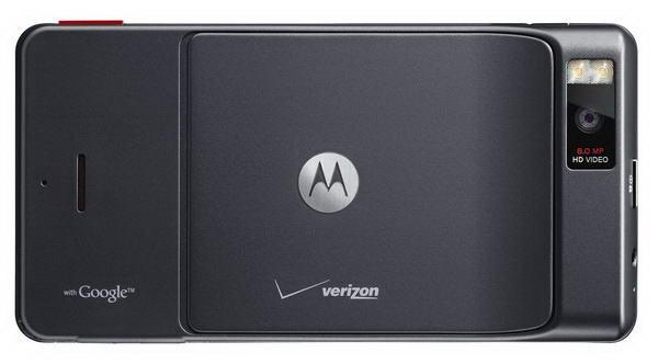 Motorola Droid X Back