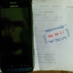 Nokia C6 front and bill