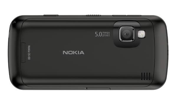 Nokia C6 Back Black
