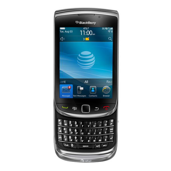 Rim Announced Torch 9800 And Blackberry 6 Os