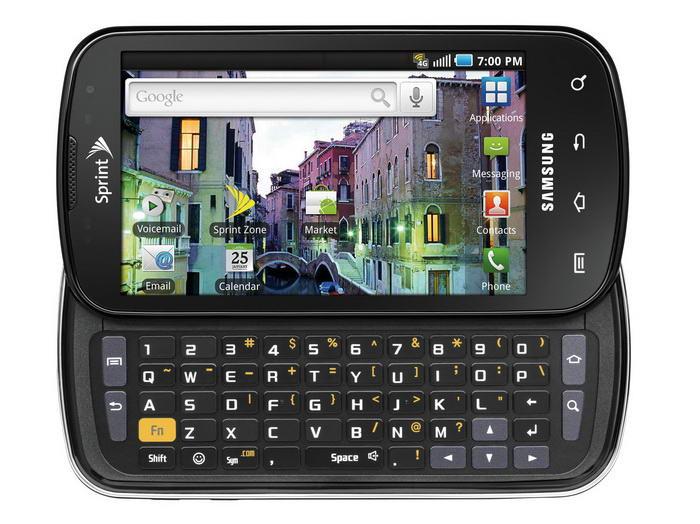 Samsung Epic 4 Slide
