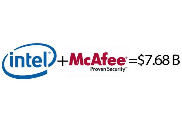 Intel will buy McAfee