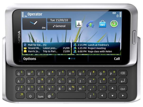 Nokia E7 QWERTY
