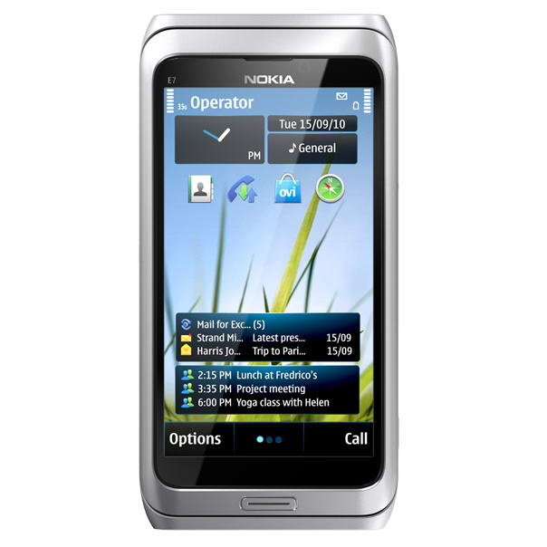 Nokia E7 Smartphone will be released at the end of 2010