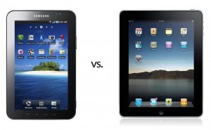 Samsung Galaxy Tab vs. Apple iPad