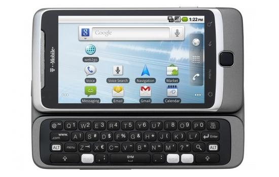 T-Mobile G2 QWERTY
